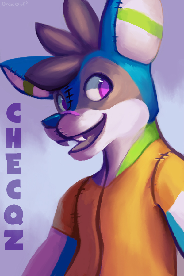 Checqz Badge by OrcaOwl