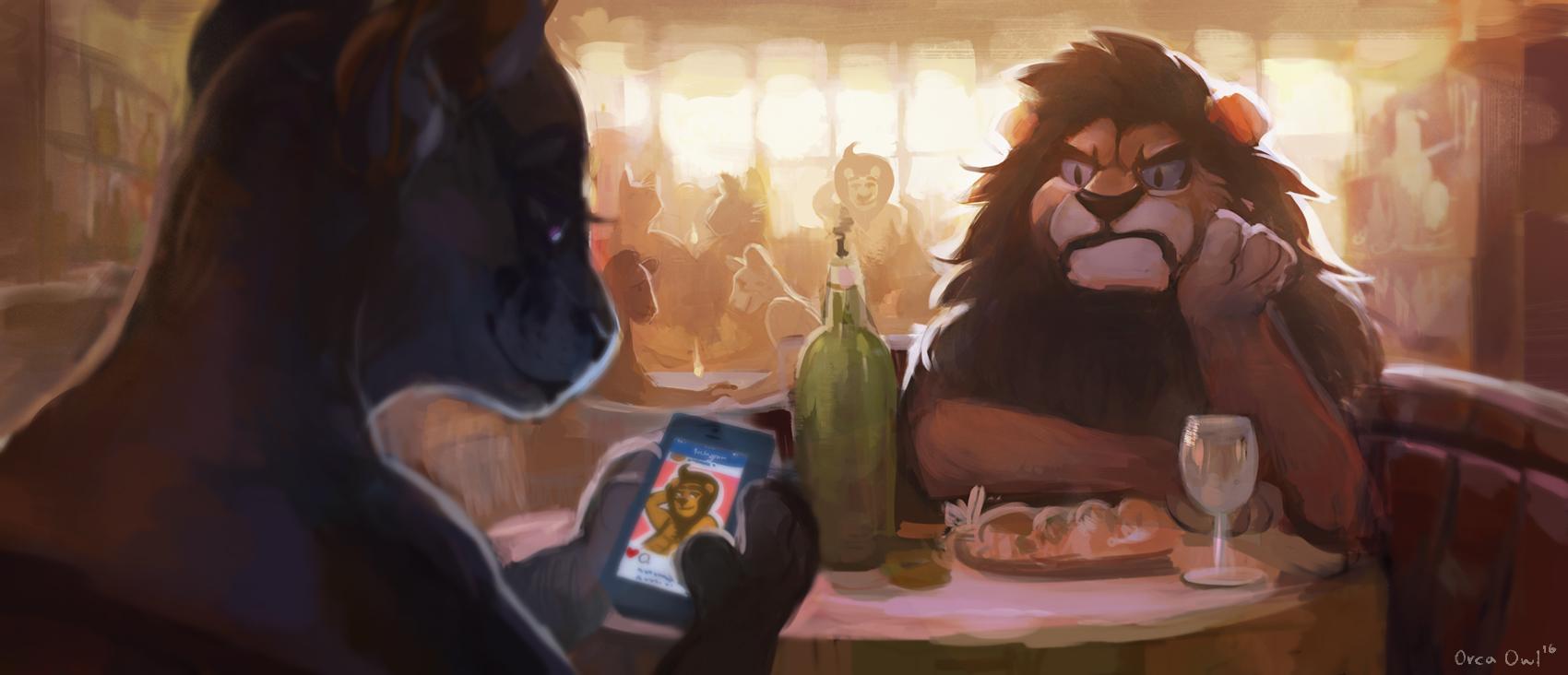 lion dating