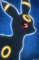Umbreon Stars by OrcaOwl