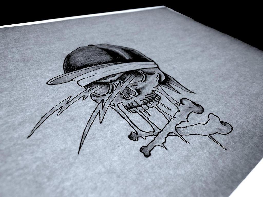 skull cap by uzi-street