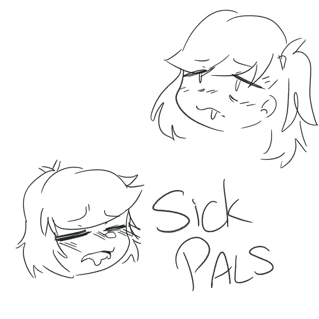 Sick Pals by ladny