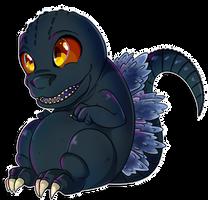 Godzilla by ladny