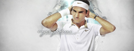Roger Federer by VitalyaRolex