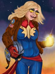 Captain Marvel *Flight Suit (March 2019 Main Piece
