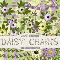 Daisy Chains Scrapkit by Bluebirdofhappiness