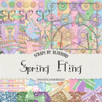 Spring Fling Kit by Bluebirdofhappiness