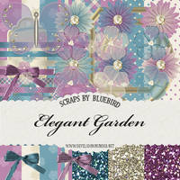 Elegant Garden Kit by Bluebirdofhappiness