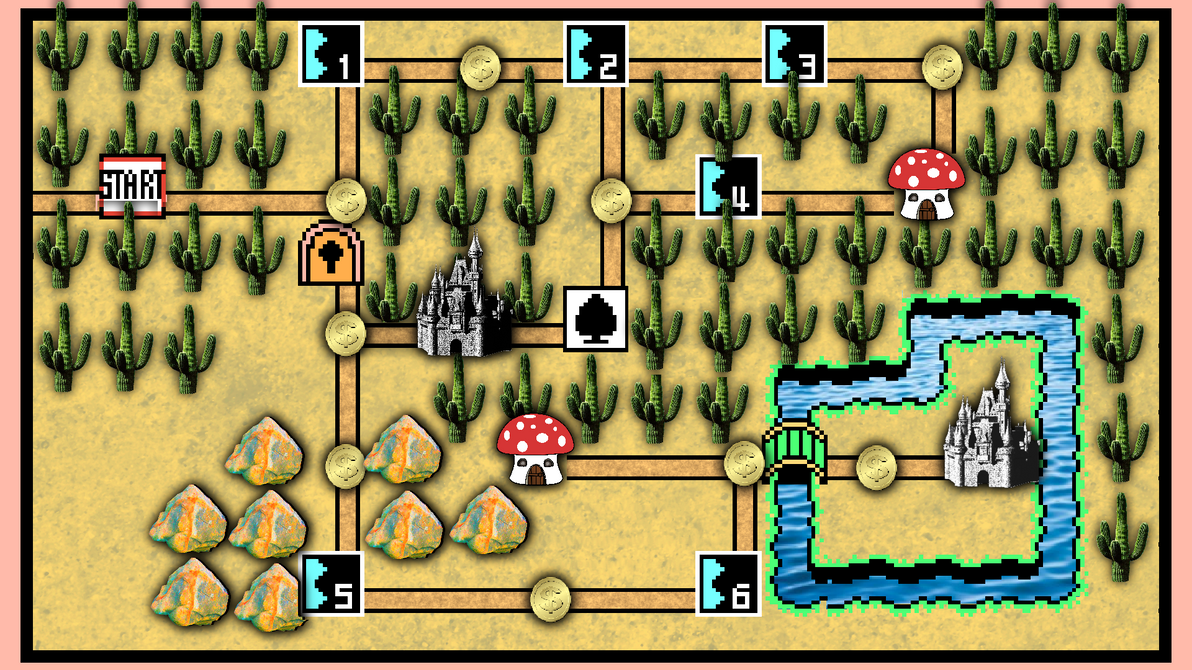 Realistic super mario world 3 map by jollypotato on deviantart realistic super mario world 3 map by jollypotato gumiabroncs Gallery