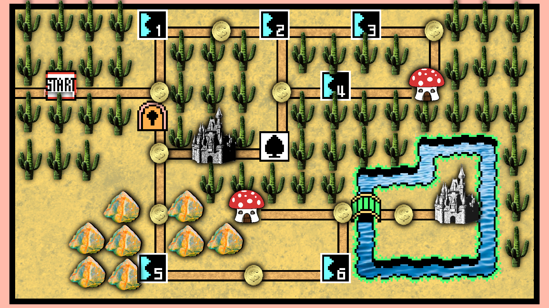 Realistic super mario world 3 map by jollypotato on deviantart super mario world 3 map by jollypotato gumiabroncs Choice Image