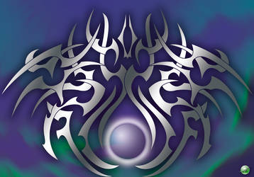 Purple Tribal by Rodblast