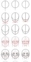 How to draw manga Age head tutorial by MrKaroruso