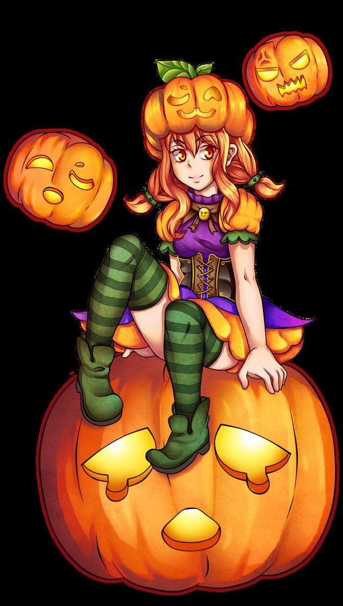 Kune Pumpkin witch by MrKaroruso