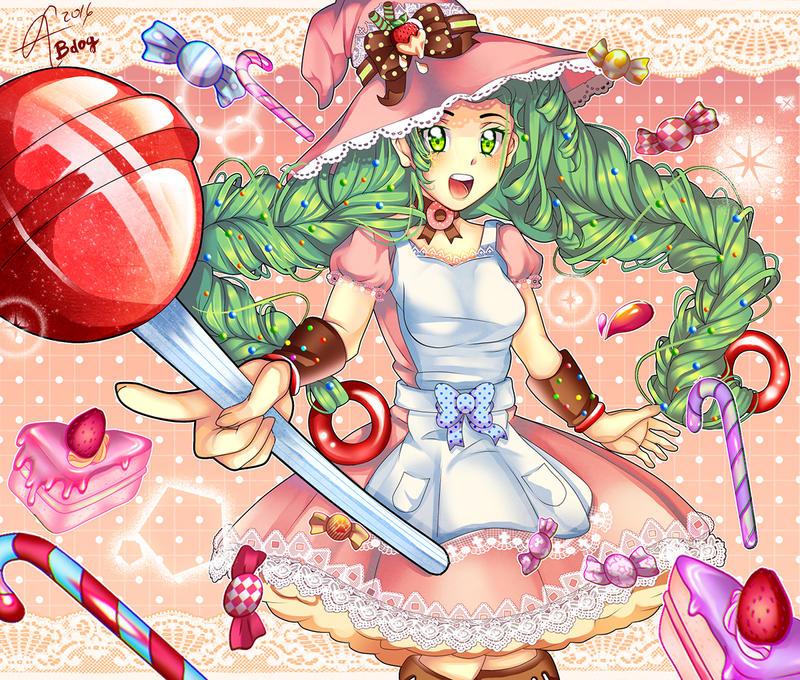 Candy Witch by MrKaroruso