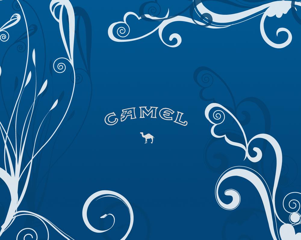 Camel Blue Wallpaper by GeekGod4 on DeviantArt  Camel Cigarettes Logo Wallpaper