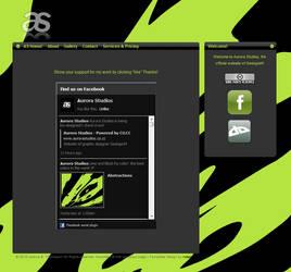 Aurora Studios Lime Re-Design