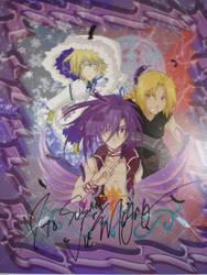 Dark, Fai and Edward signed by ForsakenAngel-88