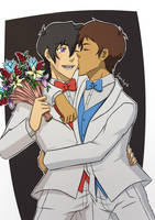 Wedding Klance by ForsakenAngel-88