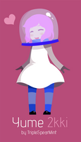 More helmet girl by TripleSpearMint