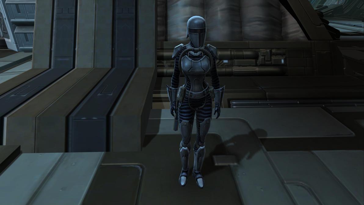 Shae Vizla in the Mandalore the preserver armor by pokedigijedi