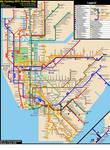 Fantasy NYC Subway Map (Revision 8)