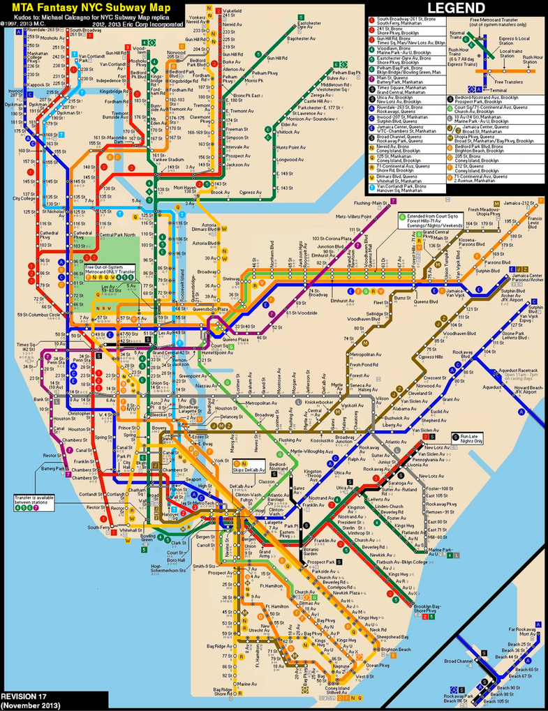 New York City Subway Fantasy ...