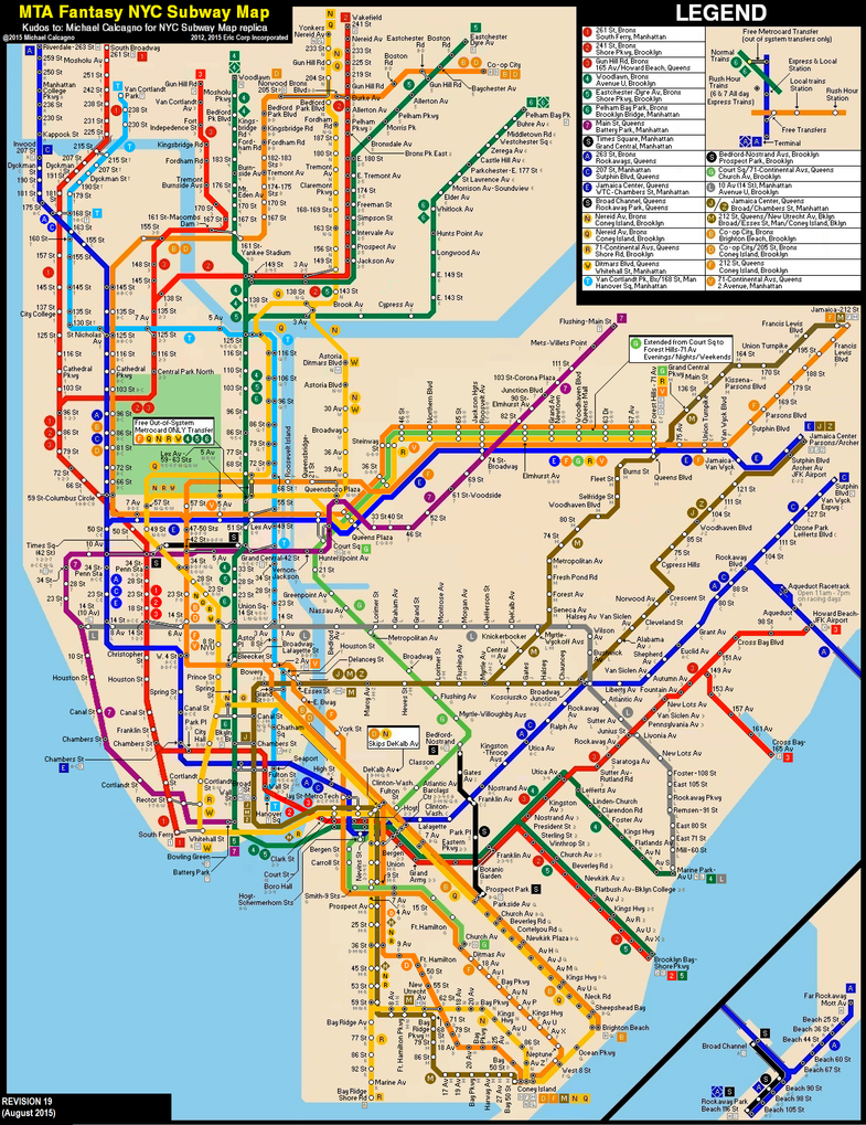 Nyc Subway Map F Train