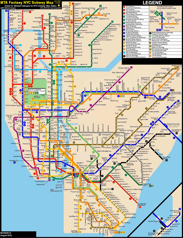 N Subway Map.N Train Map Minecraft Notch Land Map