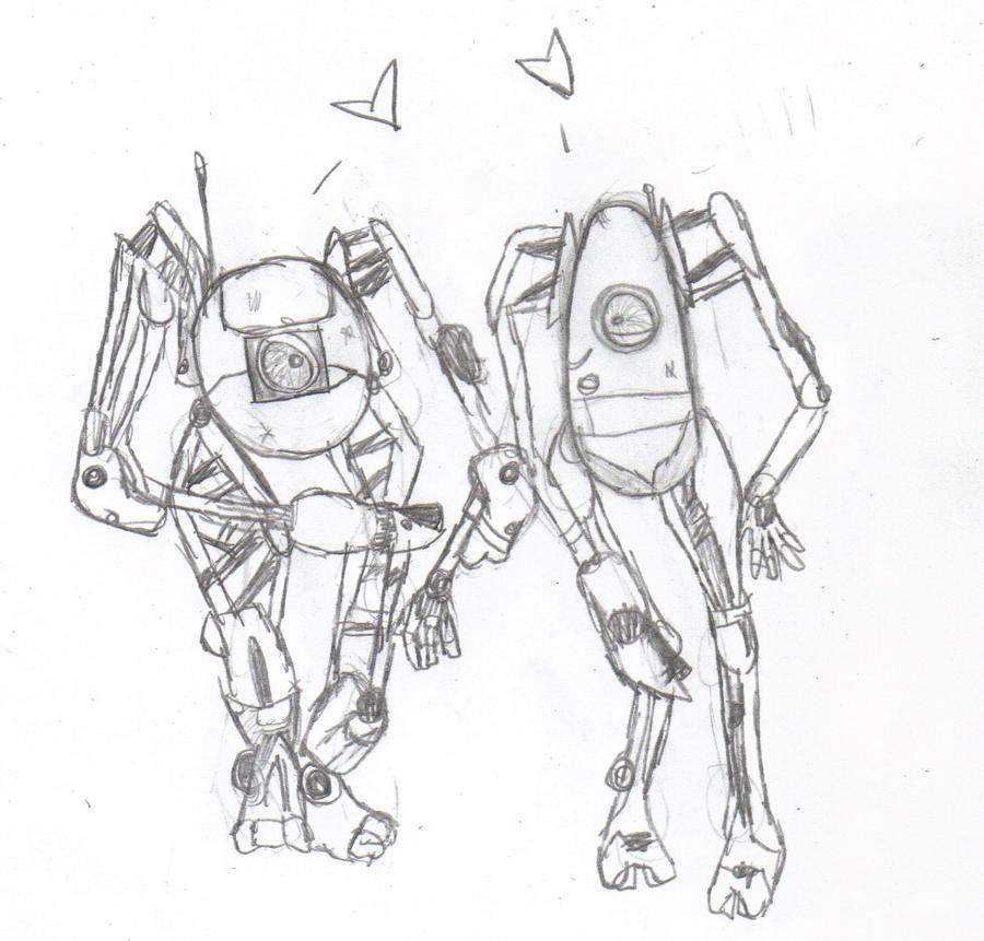 portal 2 robots hugging. portal 2 robots hugging.