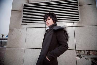 Psycho Pass - Shinya Kougami by Arshinceva