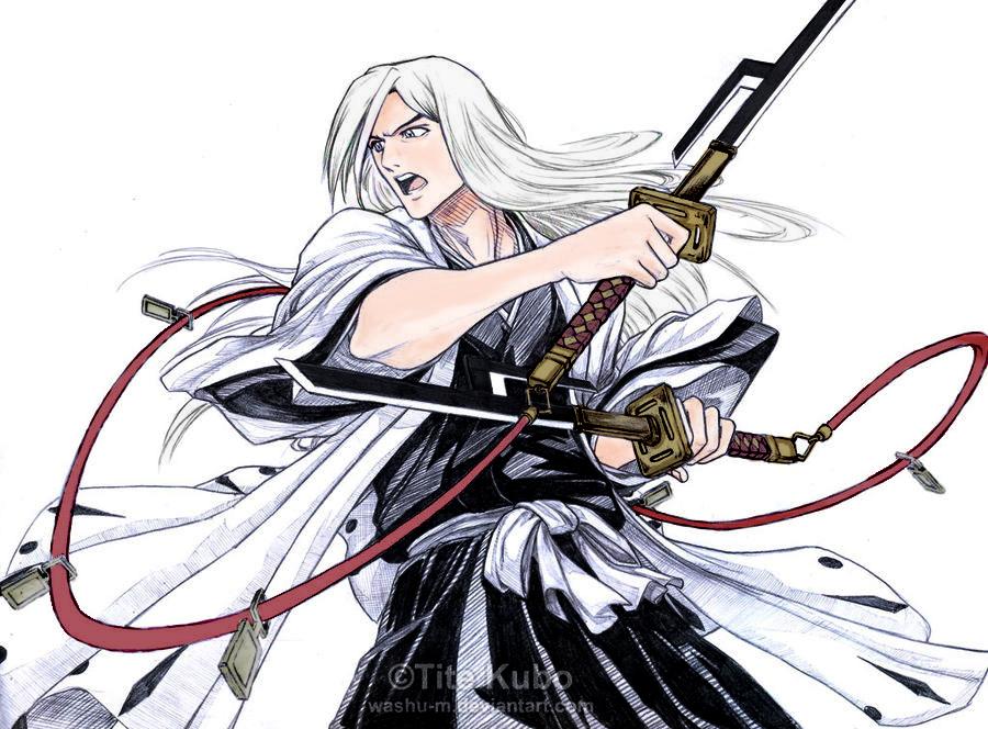Anime Bleach Character Ukitake Joushiro Range Captain Division 13Th