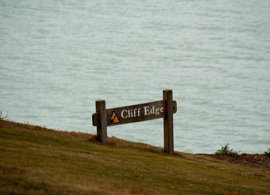 cliff edge by MadameMimii