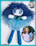 Blue Crazy Jane by lilnymph