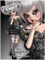 Snow by lilnymph