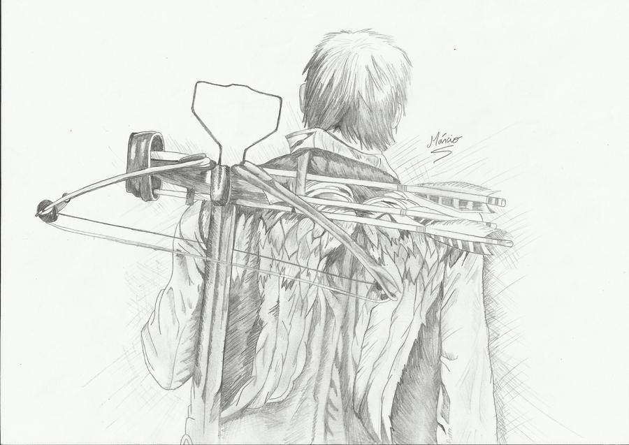 daryl dixon coloring pages - photo#31