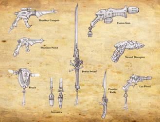 Eldar Weapons