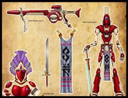 Wrath Guard and Eldar by carlos1170