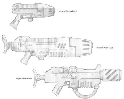 Imperial Weapons Sketches 3