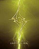 Lightning Sigil by AenTheArtist