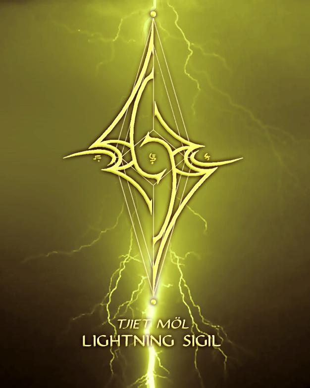 Lightning Sigil by AenTheArtist on DeviantArt