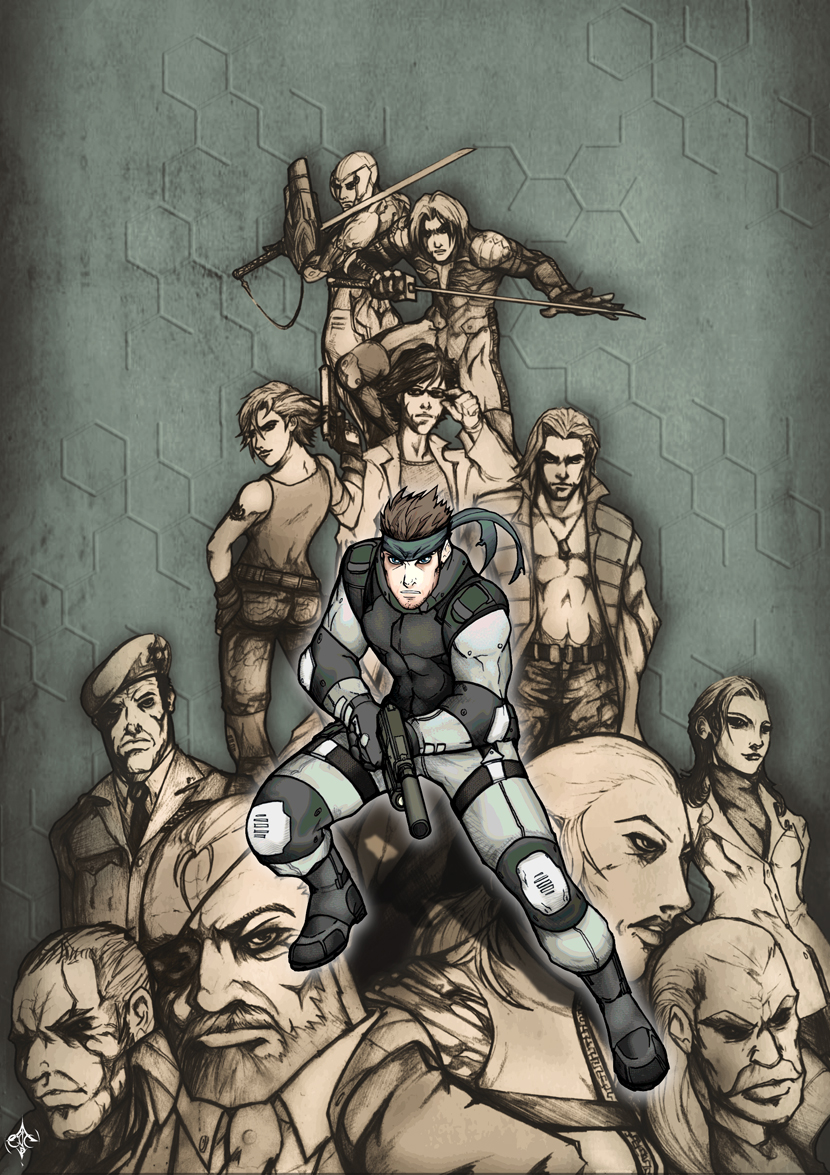 Metal Gear Forever by AenTheArtist