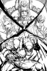 Marvel vs Capcom Poster 2 by AenTheArtist