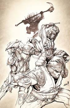 Sketch Jam - Final Fantasy XI
