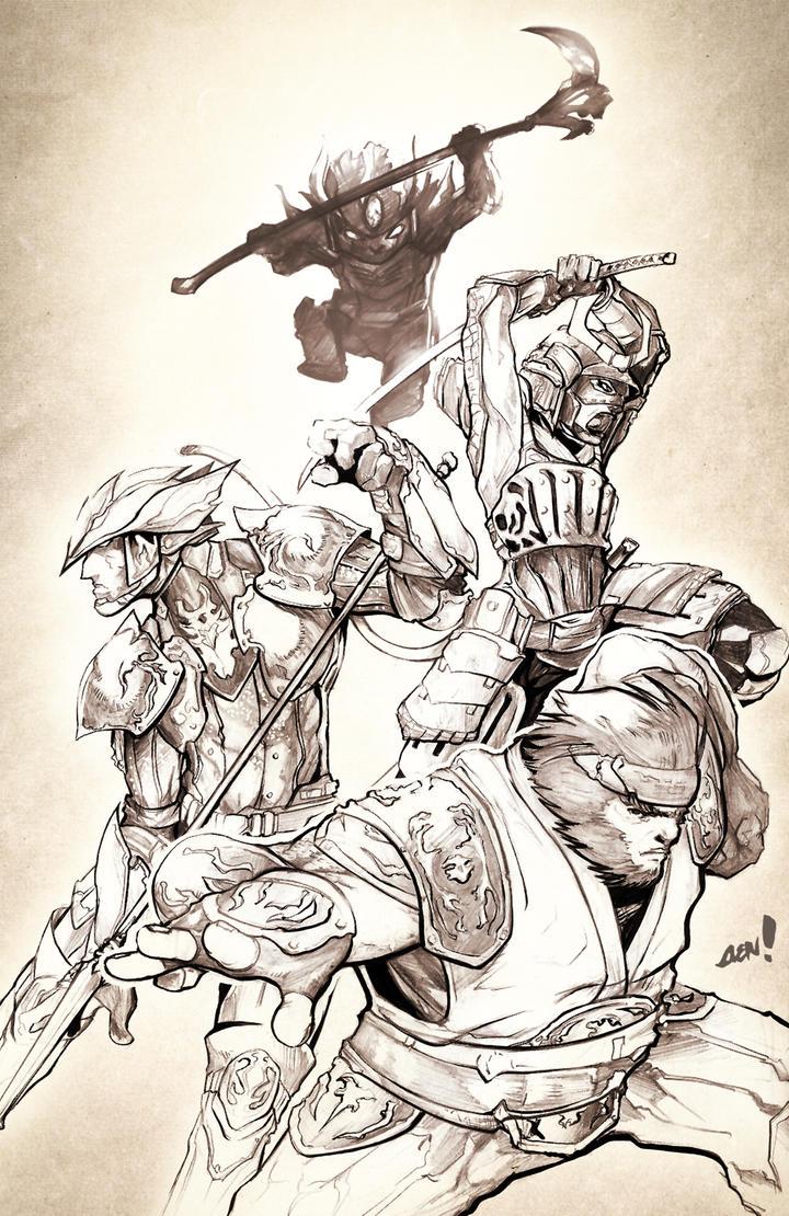 Sketch Jam - Final Fantasy XI by AenTheArtist on DeviantArt