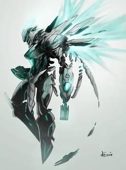 Concept - Protoknight, Full Render
