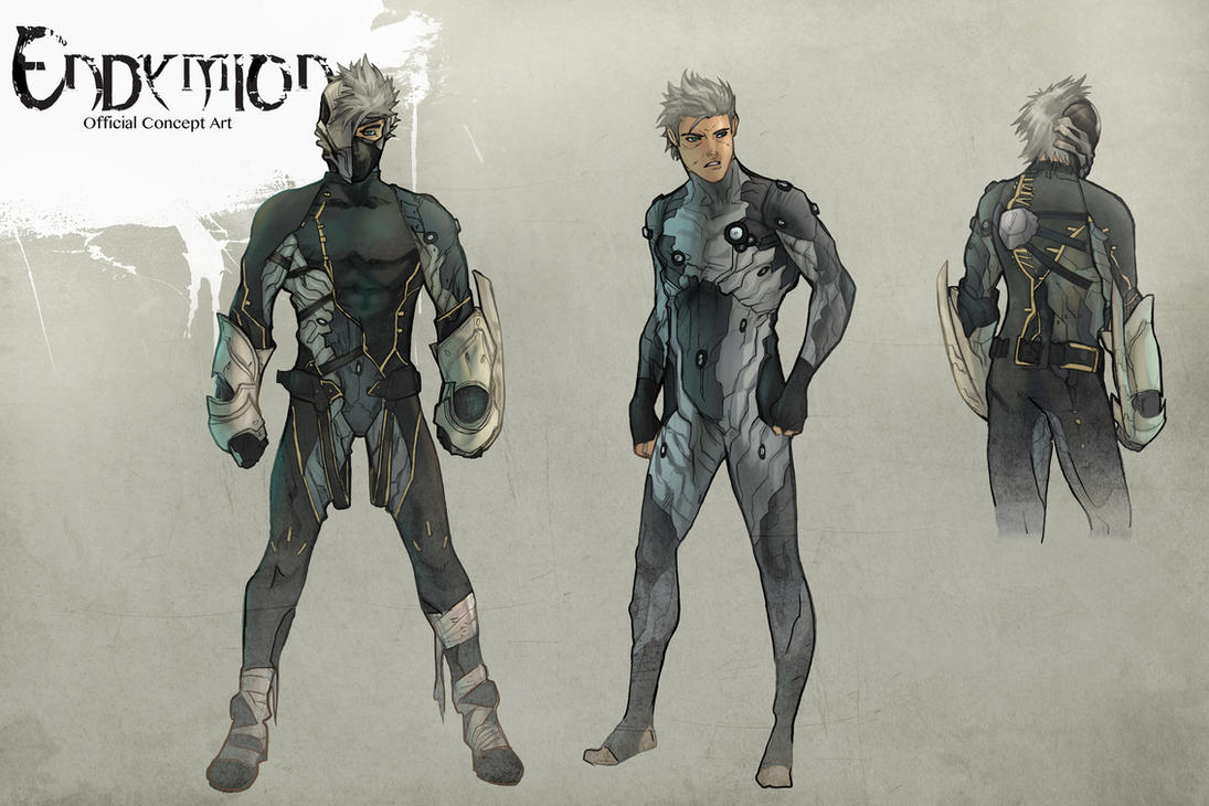 Concept art comish endymion by aentheartist