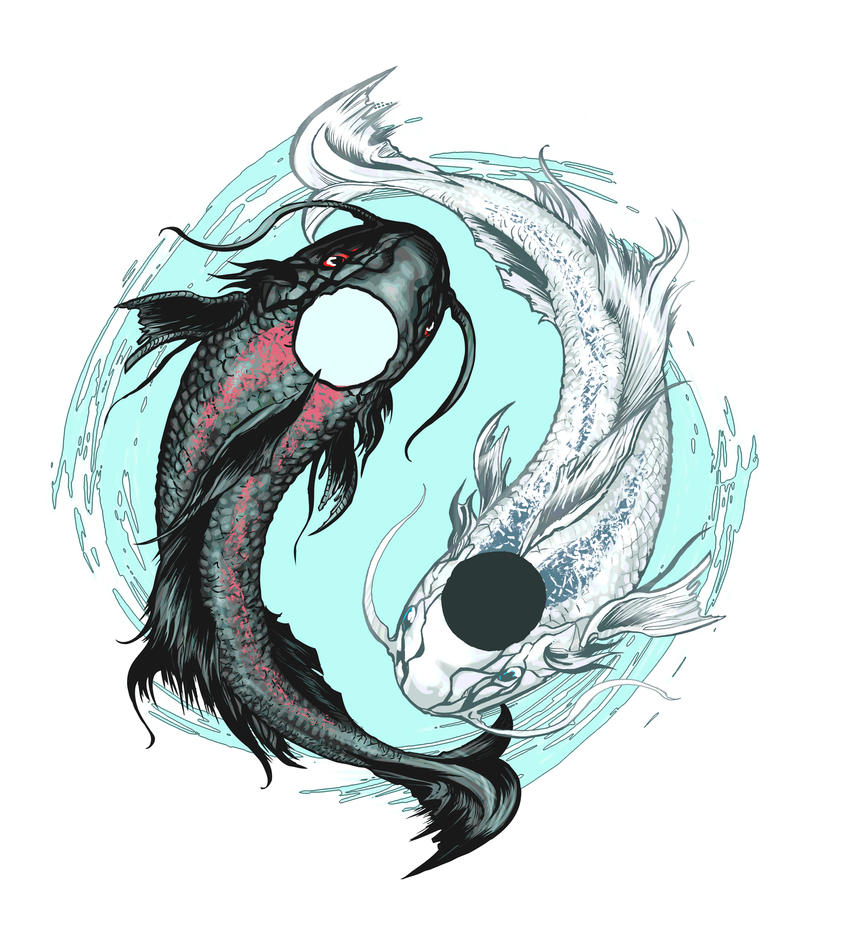 Koi fish tattoo design by aentheartist on deviantart for Koi fish net