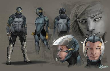 Concept Art - Liberty Soldier p1