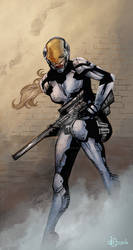 Concept Art - Liberty Soldier p4