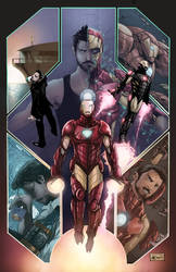 Commission - Iron Man Poster