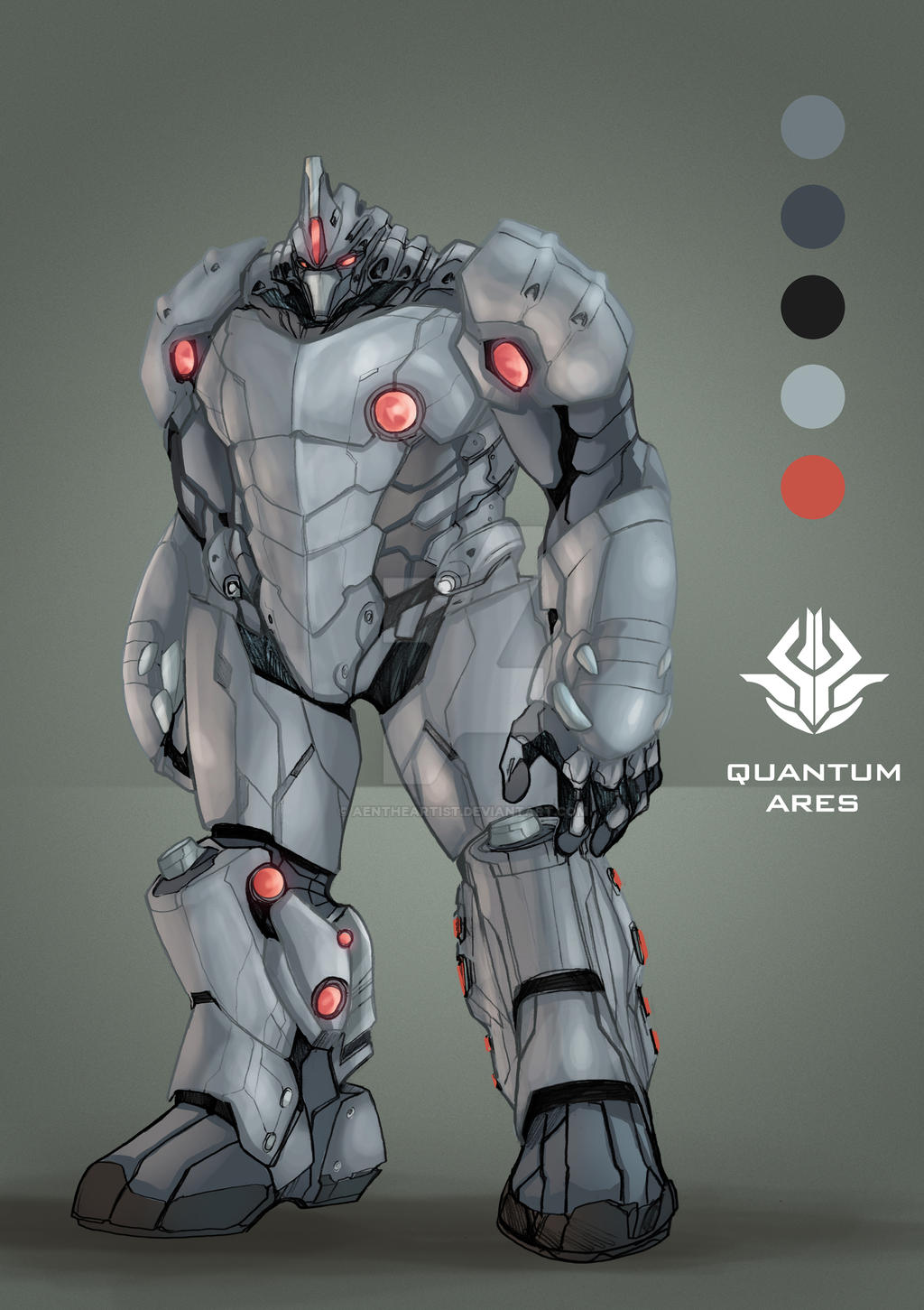 the armor of god quantum ares by aentheartist on deviantart